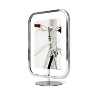 Рамка за снимка за стена или свободностояща 13х18см Umbra Infinity Sqround, хром