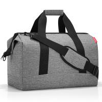 Пътна чанта 30 литра в стилен сив цвят Reisenthel allrounder L, twist silver