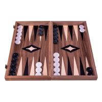 Луксозна дървена табла и шах изработена от истински материали Manopoulos