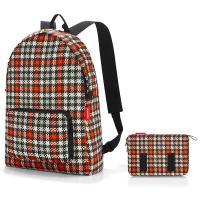 Червена портативна сгъваема раница за път Reisenthel Mini maxi rucksack