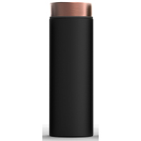 Изискана двустенна термо бутилка Asobu Le Baton с вакуумна изолация 500мл, в черен цвят