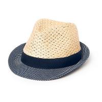 Мъжка плетена шапка от хартиен канап с лента HatYou