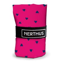 Дамска розова чанта за пазаруване на сърца Vin Bouquet Nerthus