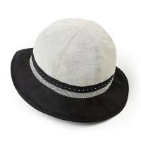 Дамска лятна черно-бяла шапка за плаж или ежедневието HatYou