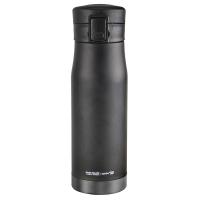 Голям двустенен термос Asobu Liberty с вакуумна изолация и заключващ бутон 500мл, в черен и сив цвят