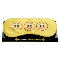 Забавна маска за очи с емотикони изразяващи настроението