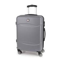 Сребрист куфар 67см Gabol Orleans, среден размер
