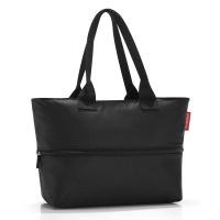 Черна чанта за плажа, за пазаруване или ежедневието с разширение Reisenthel Shopper e1 black