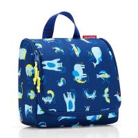 Тоалетна чанта за принадлежности Reisenthel Toiletbag Abc Friends, в тъмносин цвят