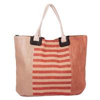 Стална чанта за плаж със златист оттенък