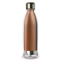 Практичен термос - бутилка 525мл Asobu Viva La Vie в цвят мед