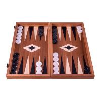 Дървена игрална табла за игра Manopoulos, Махагон
