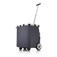 Черна чанта за пазар на колела Reisenthel Carrycruiser