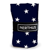 Тъмносиня чанта за пазар на бели звезди Vin Bouquet Nerthus