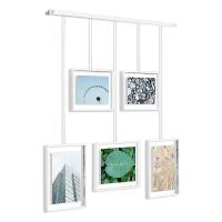 Фотодисплей рамки за снимки за стена UMBRA Exhibit, бял