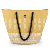 Свежа жълта чанта за плажа Gabol Daikiri