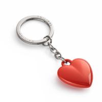 Стилен ключодържател сърце Philippi Coeur в цвят червен портокал