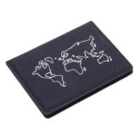 Черен калъф за документи и паспорт за пътуване с RFID защита Troika Pass Auf!