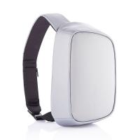 Сива чанта-раница с една презрамка XD Design Bobby Sling с място за таблет 9.7