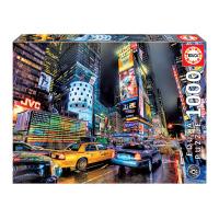 Пъзел 1000 части с градски пейзаж Educa Таймс Скуеър, Ню Йорк