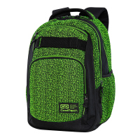 Зелена младежка раница CoolPack Skater - Green