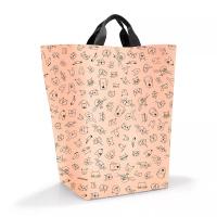 Торба за съхранение Reisenthel storagesac kids, cats and dogs rose