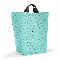 Торба за съхранение Reisenthel Storagesac kids, kids cats and dogs mint