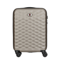 Малък куфар 55см Wenger Lumen Hardside Luggage 20'' Carry-On Aluminum, цвят титан