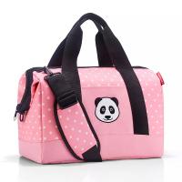 Детска пътна чанта 18л Reisenthel Allrounder M kids, Panda dots pink