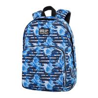 Синя ежедневна или ученическа раница CoolPack Ohio - Blue Marine