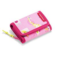 Малко розово текстилно детско портмоне Reisenthel Wallet S Kids ABC Friends, pink