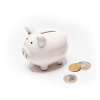 Керамично прасенце-касичка за монети