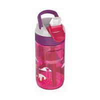 Малка детска цикламена бутилка за вода за момиче Kambukka Lagoon 400мл, супермомиче