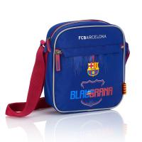 Синя мъжка чанта за рамо FC Barcelona Barca Fan 7 FC-224
