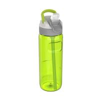 Голяма зелена спортна бутилка за вода 750мл Kambukka Lagoon, зелена ябълка