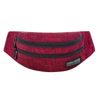 Червена чанта за през кръста CoolPack Madison - Snow Red