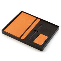 Луксозен бизнес комплект за подарък от тефтер, химикалка и визитник Philippi Notes
