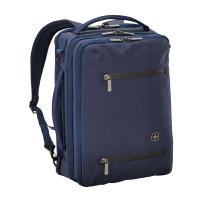 Синя раница и пътна чанта Wenger CityRock с място за лаптоп до 16