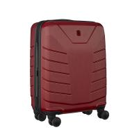 Стилен малък тъмночервен куфар за ръчен багаж Wenger Pegasus