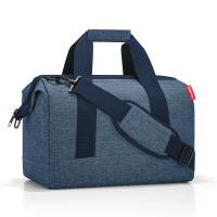 Синя стилна пътна чанта Reisenthel allrounder M, twist blue