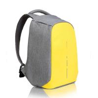 Жълта раница за път или ежедневието с място за лаптоп 14
