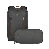 Комплект от раница за лаптоп и чантичка Wenger CityStyle 16