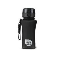 Черна матова малка спортна булика за вода или други течности Ars Una, 350мл
