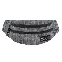 Сива чанта за през кръста CoolPack Madison - Snow Grey