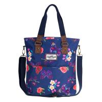 Синя дамска чанта на цветя CoolPack Amber Summer Dream