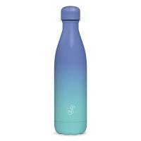 Метална термо бутилка в два нюанса синьо Ars Una Gradient Blue, 500мл