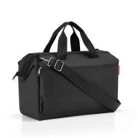 Удобна малка черна пътна чанта Reisenthel Allrounder S pocket, black