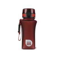 Червена матова малка спортна булика за вода или други течности Ars Una, 350мл