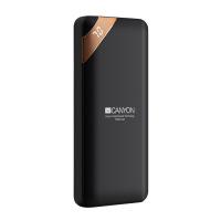 Компактна преносима батерия power bank Canyon PB-102 10000mAh, черна