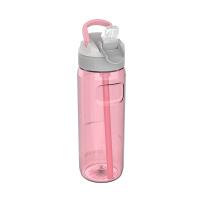 Дамска розова голяма спортна бутилка за вода 750мл Kambukka Lagoon, лимонада от рози